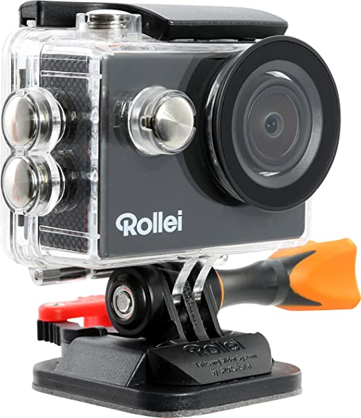 11 opinioni per Rollei Actioncam 300 Plus, Risoluzione Video HD 720p, Alloggiamento Subacqueo