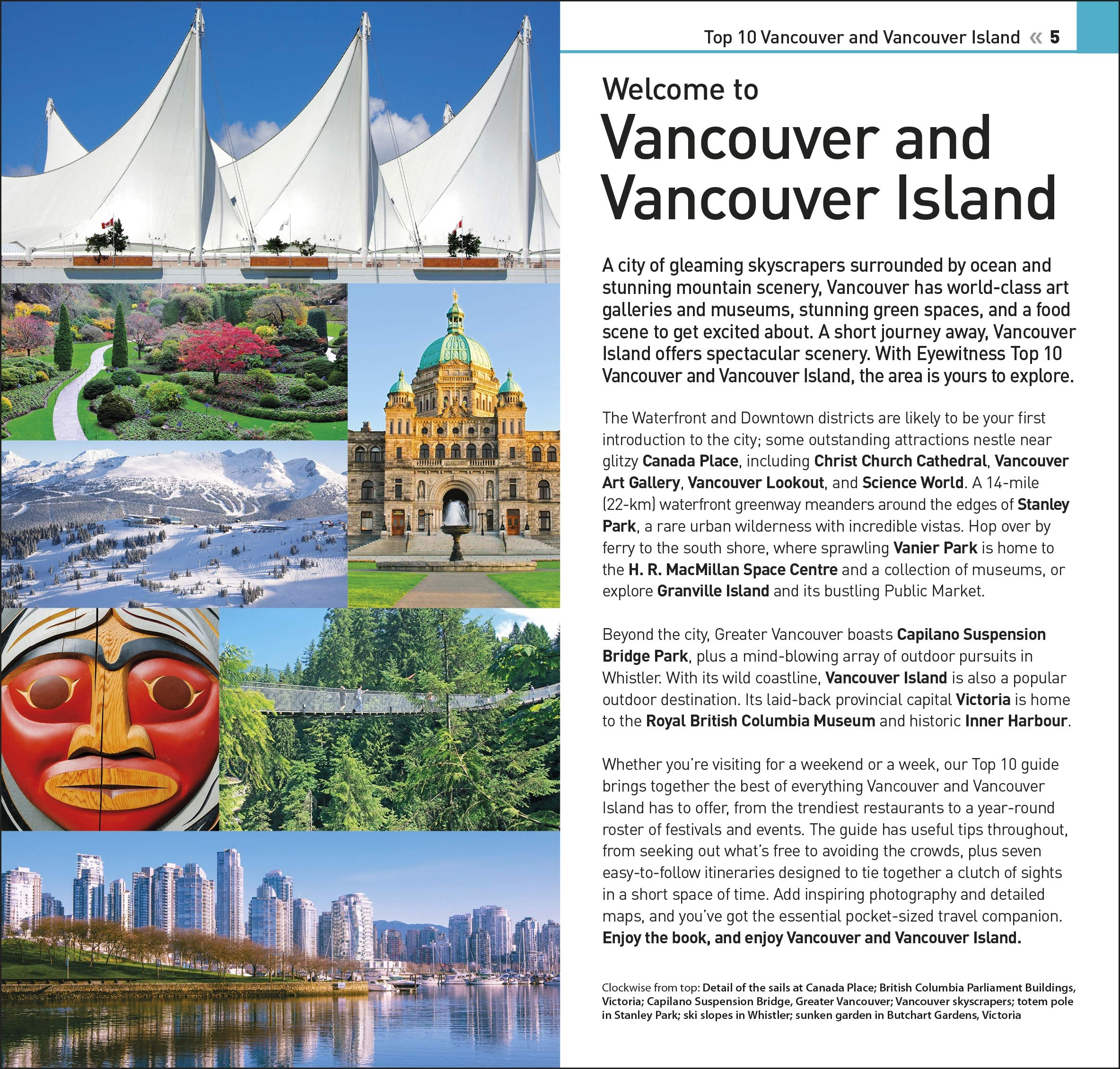 DK Eyewitness Top 10 Vancouver and Vancouver Island (Pocket Travel Guide):  DK Eyewitness: 9780241408025: Amazon.com: Books
