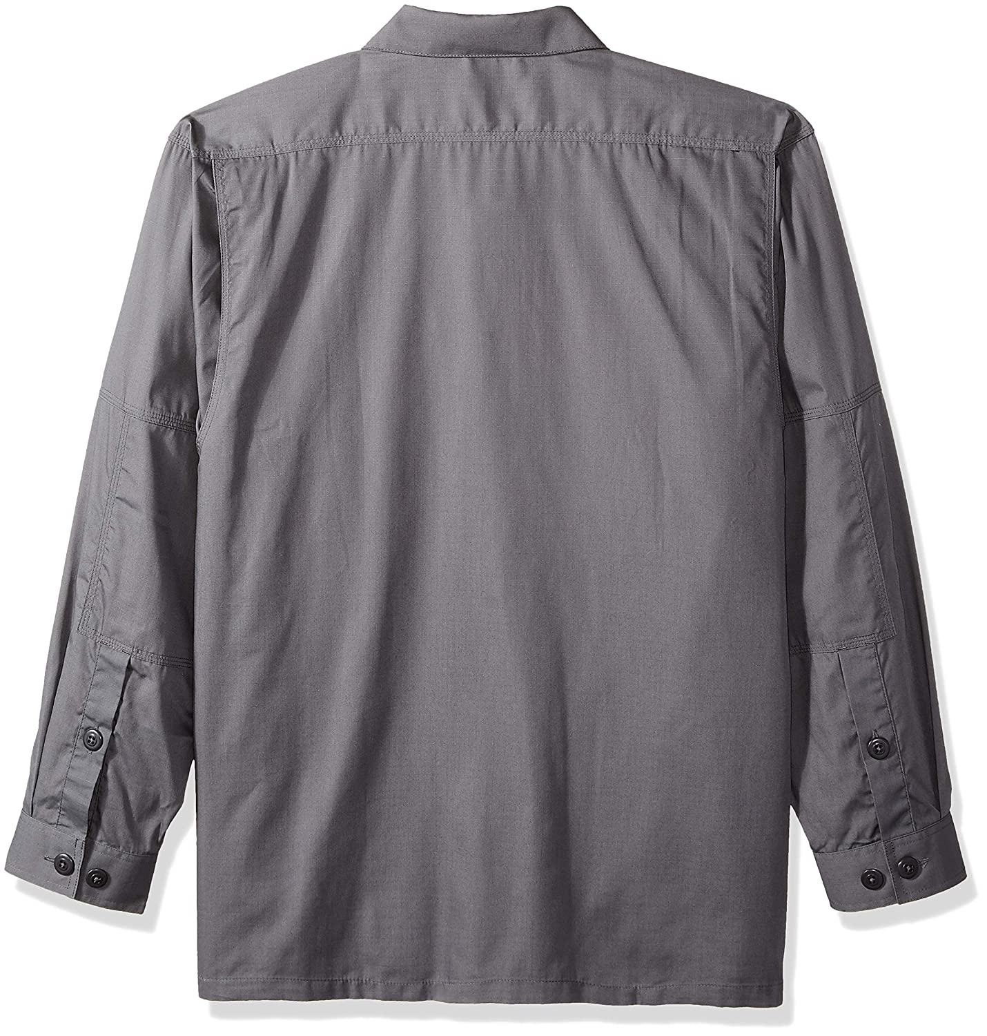 5.11 Mens Tactical Taclite Polyester-Cotton Ripstop Fabric TDU Long-Sleeve Shirt Style 72054