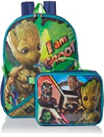 Marvel Boys' Guardians of the Galaxy Backpack with Lunch