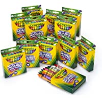 12-Packs Crayola Ultra-Clean Washable Large Crayons