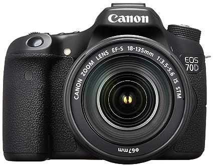Canon EOS 70D Cámara réflex Digital de 20,2 MP con Dual Pixel CMOS ...