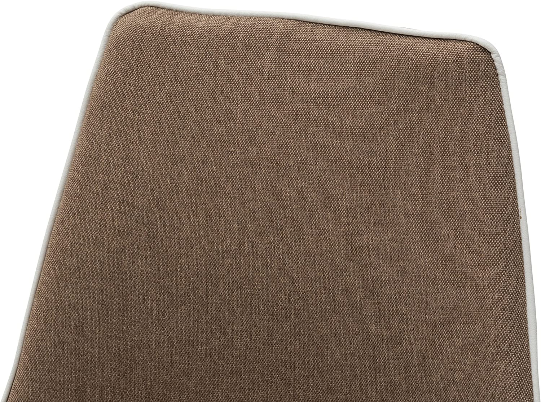 Metallo 50x58x94 cm Set di 2 Sedie Marrone White loft