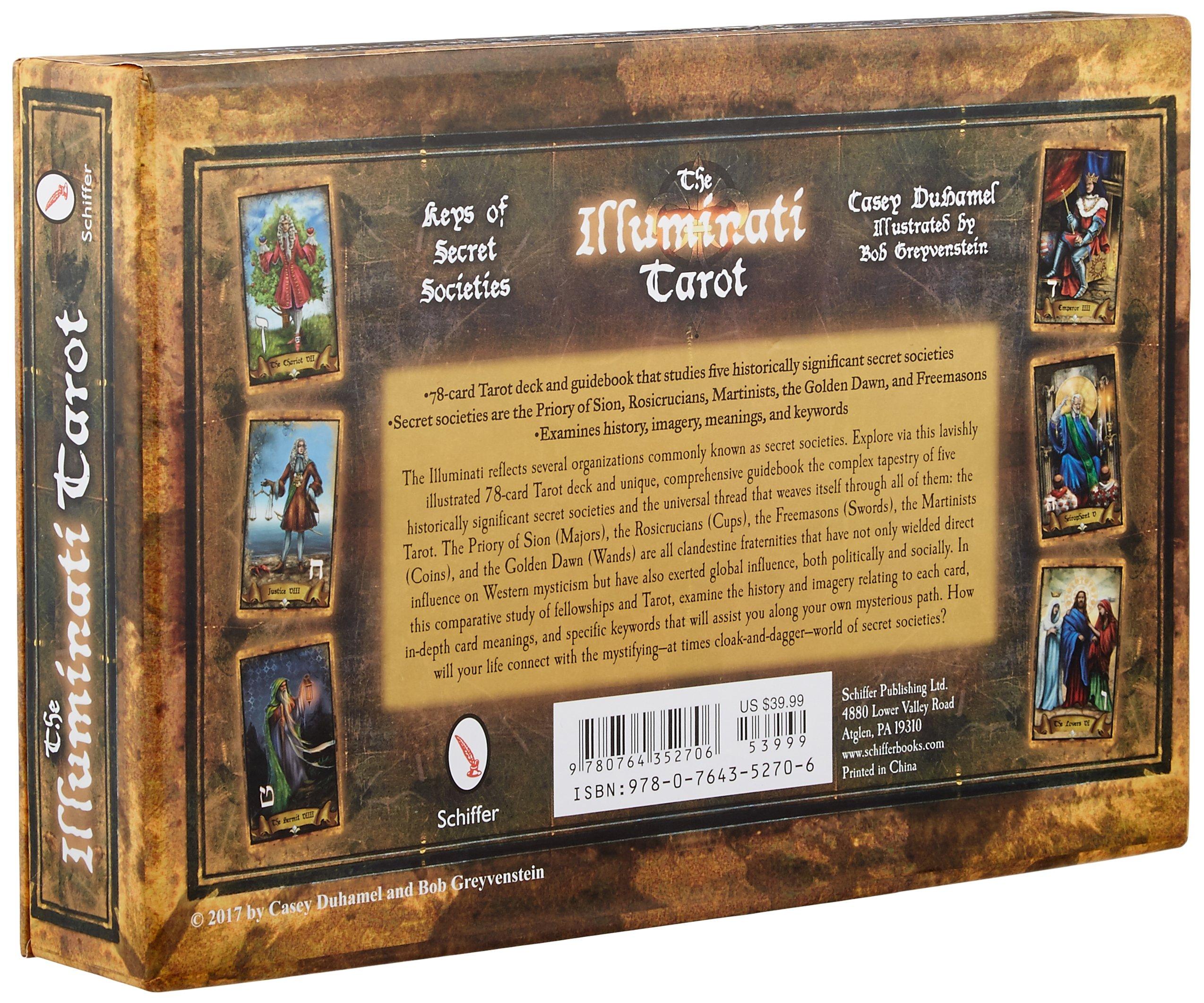The Illuminati Tarot: Keys of Secret Societies: Amazon.es: DuHamel, Casey, Greyvenstein, Bob: Libros en idiomas extranjeros