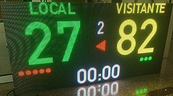 Marcador Futbol Baloncesto Electrónico Multideporte ...