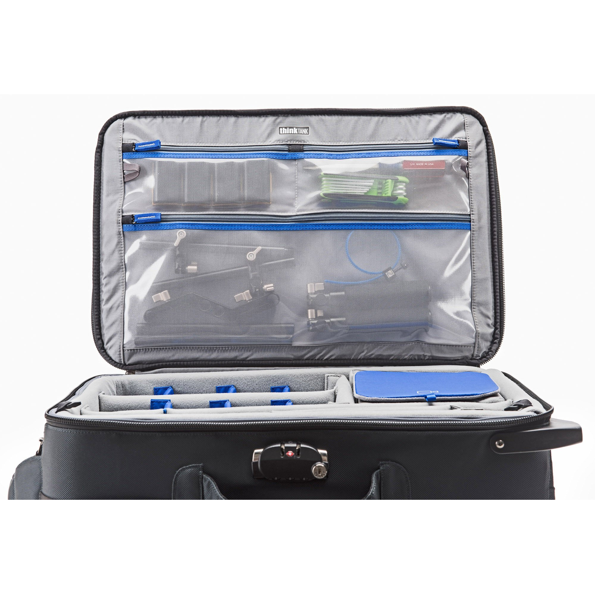 Think Tank Photo Video Transport 20 Carry-On Case (Pacific Slate) by Think Tank (Image #8)