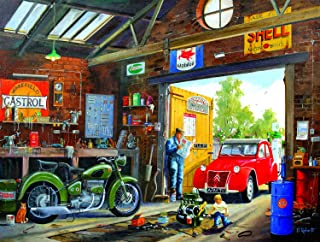 product image for Following in Dad's Footsteps 300 Pc Jigsaw Puzzle by SunsOut