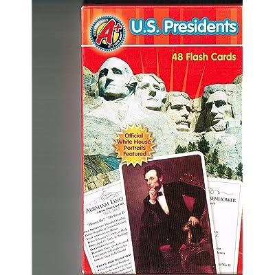 U. S. Presidents Flash Cards: Dalmatian Press: Toys & Games