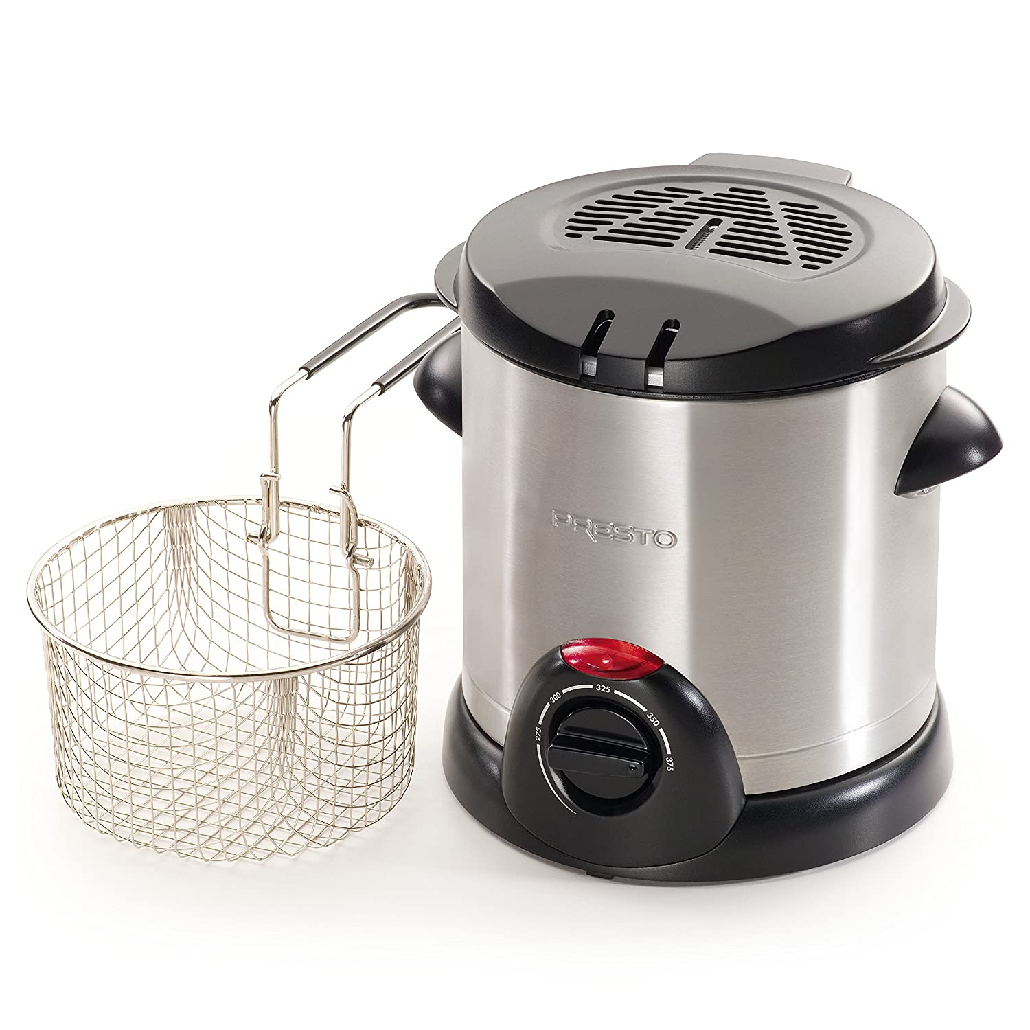 Amazon Presto Stainless Steel Electric Deep Fryer