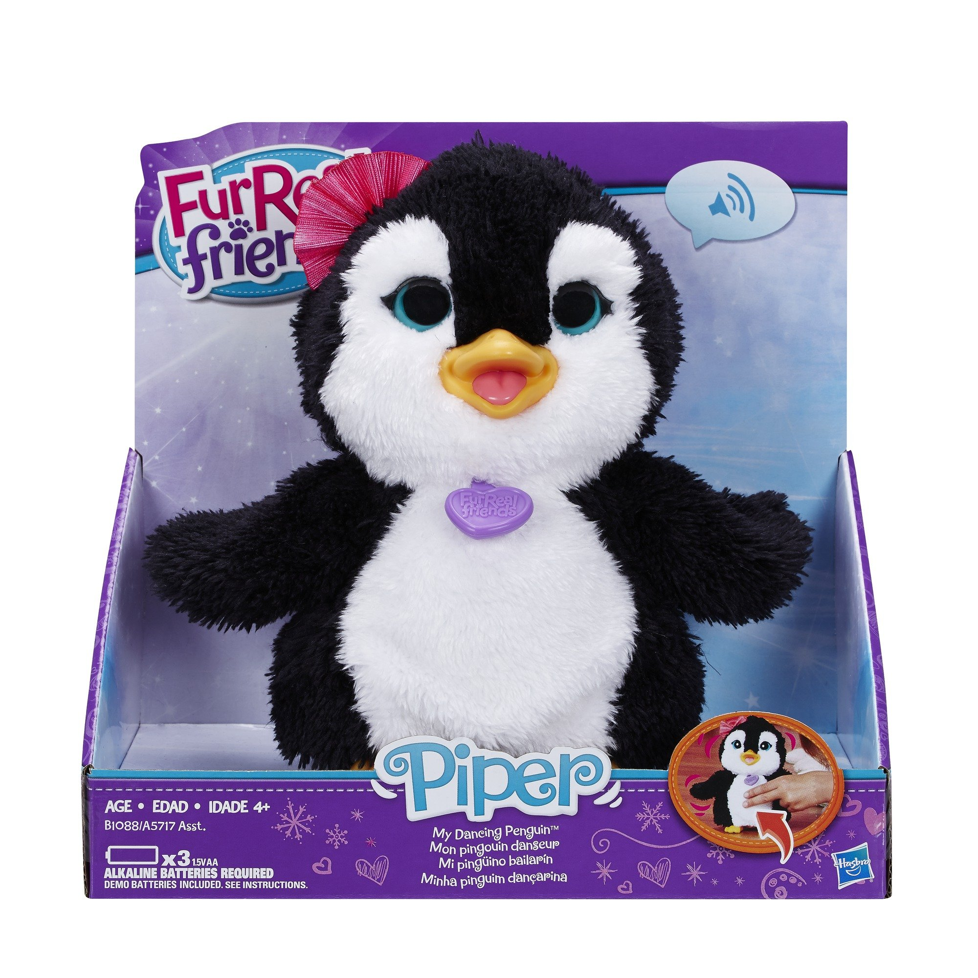 FurReal Friends Happy to See Me Pets Piper, My Dancing Penguin Pet by FurReal (Image #2)