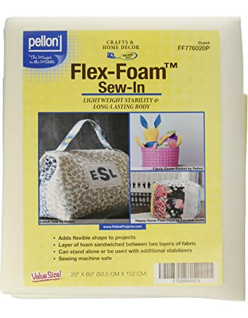 Pellon Flex-Foam Sew-In Stabilizer-20 X60