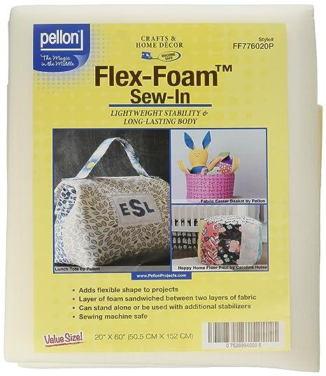 Pellon FF776020P Flex-Foam Sew-in Stabilizer, 20