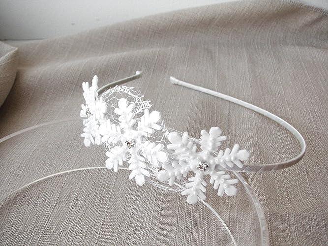 Amazon.com  Snowflake headband d1ca1c44bce