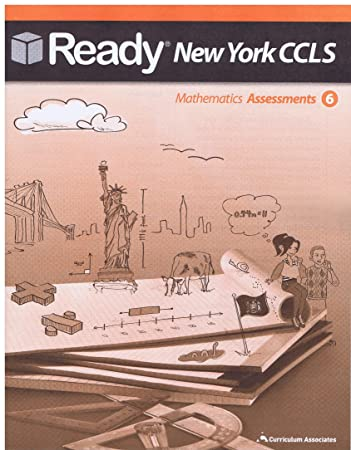 Amazon.com : Ready New York CCLS Mathematics Assessments Grade 6 ...