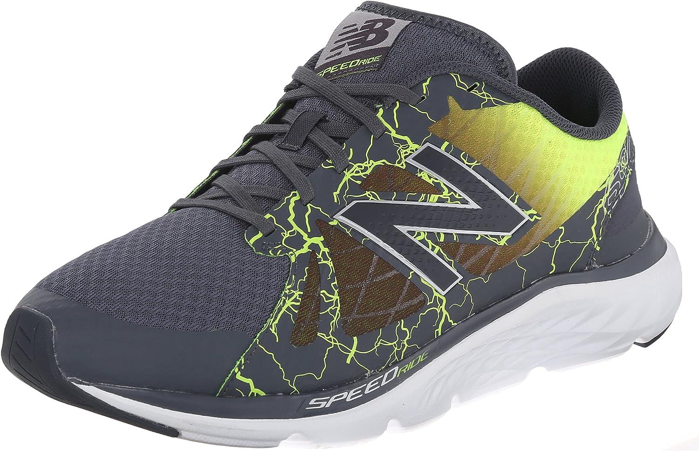 New Balance M690V4 Tenis para Correr para Hombre, Negro (Negro/Amarillo), 39.5 EU: Amazon.es: Zapatos y complementos