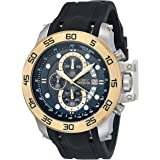 Invicta 19253 Watch Men's I-Force 18k Gold Ion-Plated Stainless Steel