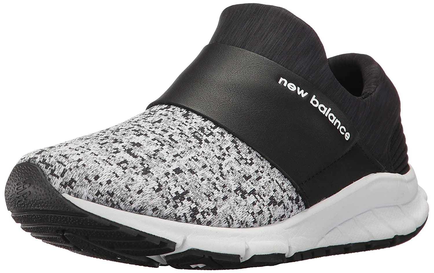New Balance Women's B01M197MXY Rush Lifestyle Fashion Sneaker B01M197MXY Women's 5.5 B(M) US|Black/White 321915