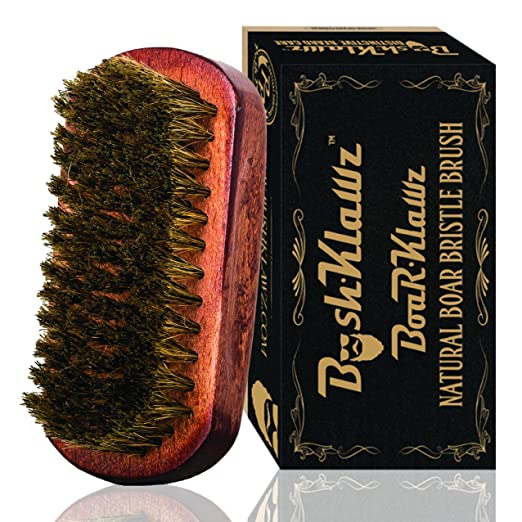 BoarKlawz 100% Natural Boar Bristles for Easy Grooming Comb