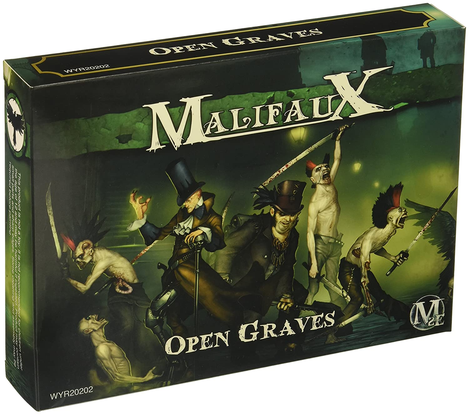 Wyrd Miniatures Malifaux resurrectionists Open Graves Crew ...