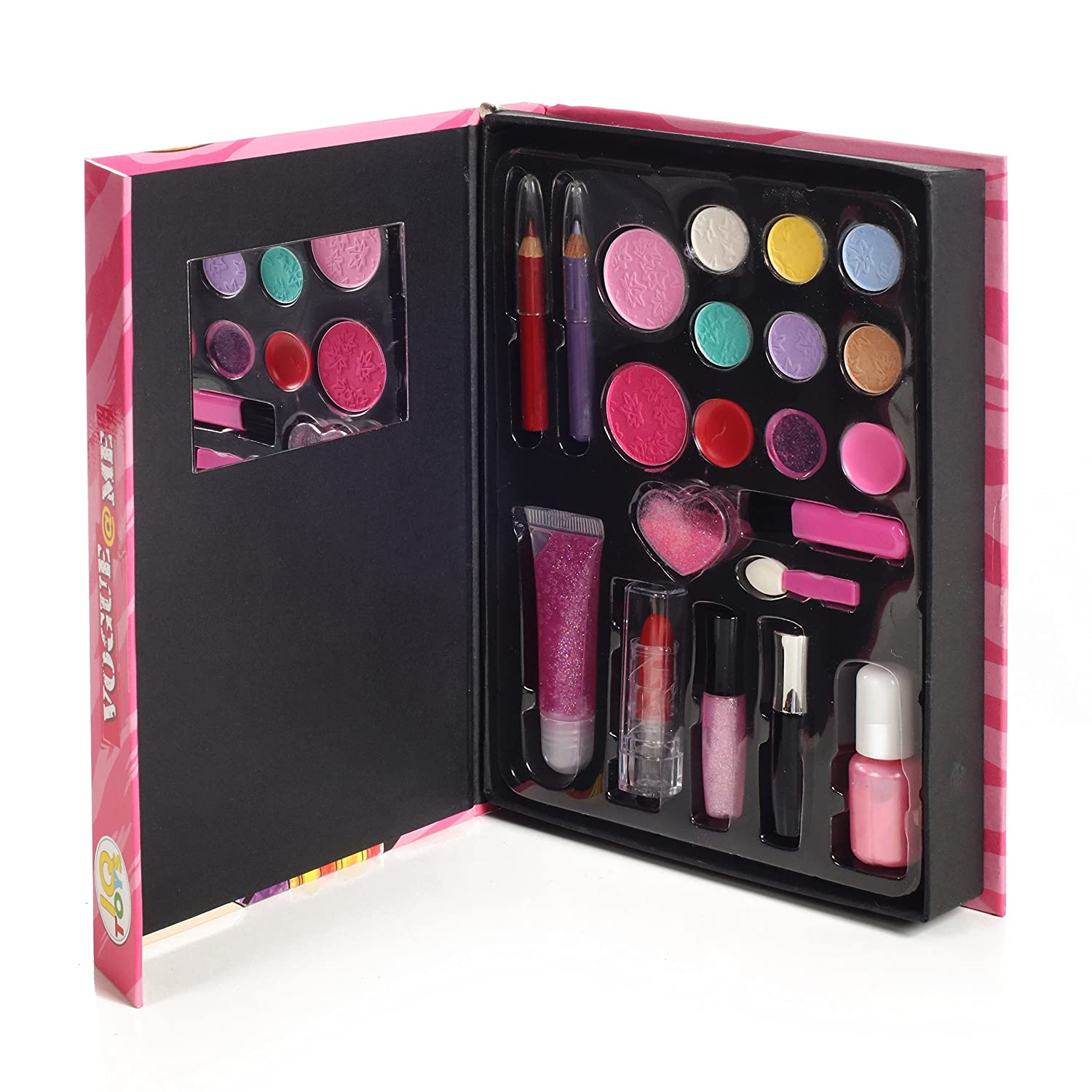 IQ Toys Kids Fun, Beauty, Fashion Washable Makeup Set