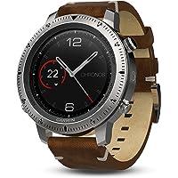 Garmin Fenix Chronos Brown Strap Watch 010-01957-00