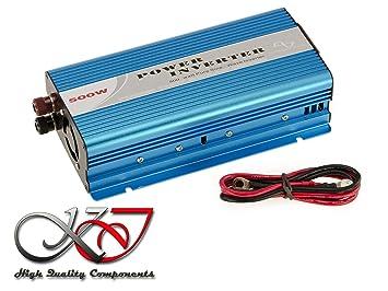 Convertidor Inversor de voltaje 12 V en 220 V (inversor AC – DC) –