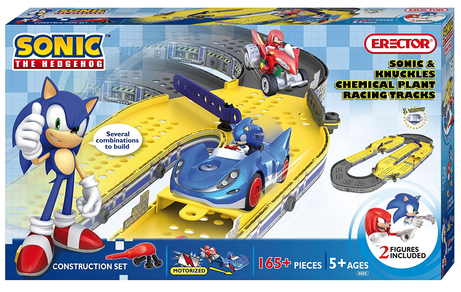 Amazoncom Erector Sonic The Hedgehog Sonic and Knuckles Chemical