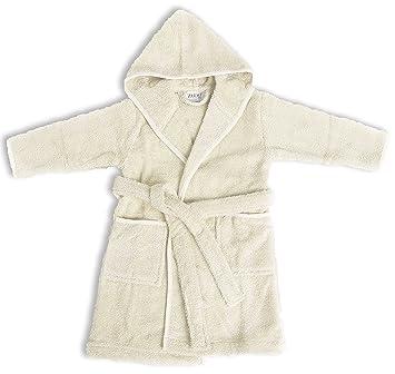 af3eb16cc062 Amazon.com   Zoog Organic Cotton Hooded Baby Bath Robe Natural Dye ...