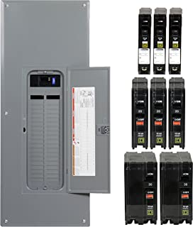 Square D by Schneider Electric QO3040M200VP QO 200-Amp 30-Space 40 on 200 amp transfer switch panel, 200 amp load panel wiring, 200 amp panel upgrade, 200 amp sub panel wiring, 200 amp panel 60 spaces, 200 amp circuit breaker panel, 200 amp panel and receptacle, 200 amp service, 200 amp main lug panel, 200 amp sub panel small, 200 amp panel box, 200 amp panel home depot, 200 amp main panel installation, 200 amp panel vs 100 amp panel, 200 amp sub to 100 amp,