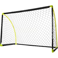 Franklin Sports Portable Soccer Goal - Kids Backyard Soccer Net - 6 x 4 Foot - All-Weather, Durable, Easy Storage…