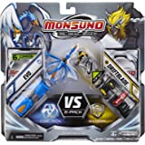 Monsuno Serie 1 - 2 Core Starter-Set with Evo #09, Driftblade #04, 2 Cores and 6 Cards