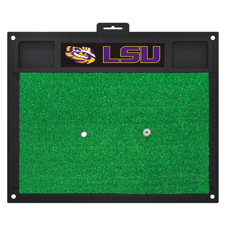 NCAA ルイジアナ州立大学 タイガース ゴルフ ヒットマット ゴルフ練習アクセサリー   B07F1YM6B1