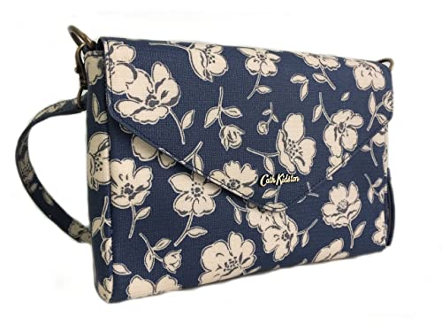 30ed521283bfa Cath Kidston Mono poppies envelope clutch/cross- body/messenger bag ...