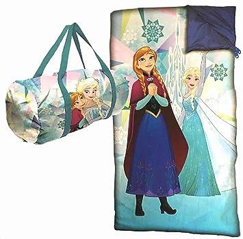 Elsa y Anna Frozen - Bolsa y saco de dormir Saco de dormir: Amazon.es: Hogar