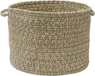 product image for Colonial Mills Tremont Utility Basket, 14 by 10-Inch, Palm