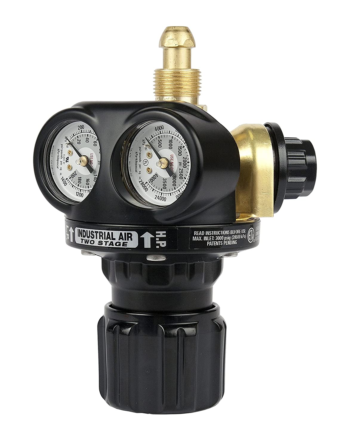Victor 0781-5224 ETS4-125-590 Professional Two Stage ETS4 EDGE Series High Capacity Regulator