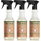 Mrs. Meyer's Multi-Surface Everyday Cleaner, Geranium, 16 Fluid Ounce (Pack of 3)