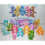 Care Bear Deluxe Figure Toy Set of 17 Different Care Bears with Wonderheart Bear, Funshine Bear, Cheer Bear and Many More!