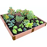 """Frame It All 300001099 2"""" Series Composite Raised Garden Bed Kit, 8' x 8' x 11"""""""