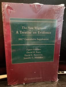The New Wigmore: A Treatise on Evidence, 2017 Cumulative Supplement, Expert Evidence