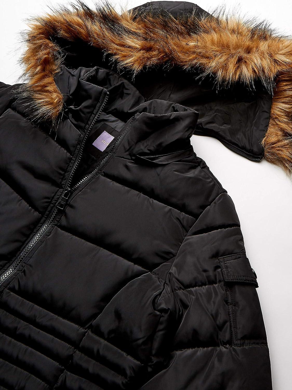 Plus-Size madden girl Womens Nylon Puffer Jacket Down Alternative ...