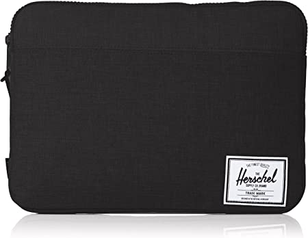 Herschel Anchor Sleeve for MacBook/iPad, Black, 13-Inch