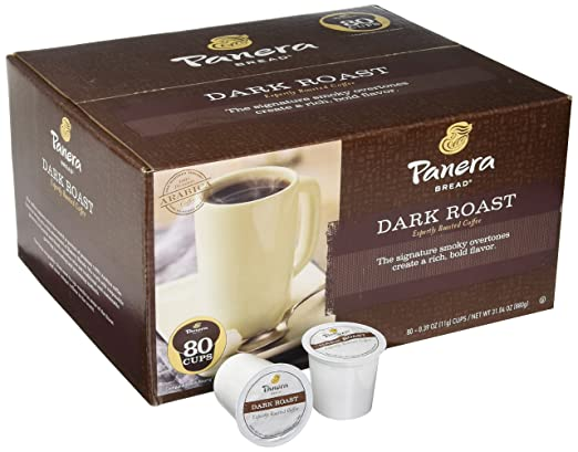 Panera Bread Coffee Box Extraordinary Panera Bread Coffee Single Cups Dark Roast 60 Count Amazon