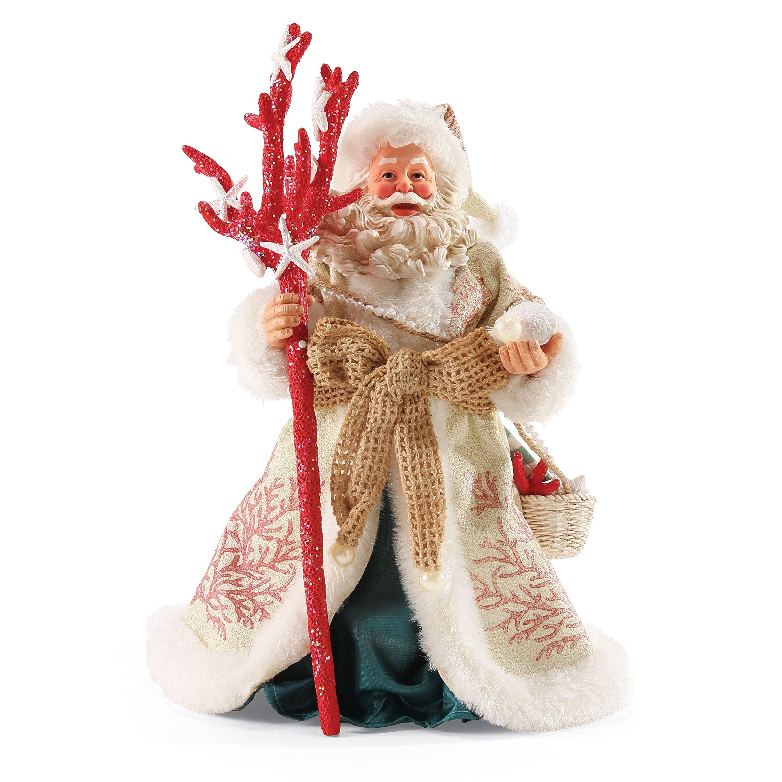 Department 56 Possible Dreams Coral Christmas Santa, 11''