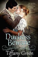 Duchess Beware (Secrets & Scandals Book 2) Kindle Edition