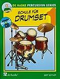 Schule für Drumset, m. Audio-CD