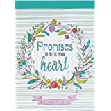 Promises To Bless Your Heart | 20 Inspirational and Exquisitely Designed Cards To Color | Expressions of Faith to Inspire Cre