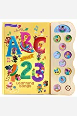 ABC & 123 Learning Songs: Interactive Children's Sound Book (11 Button Sound) (Early Bird Song) Hardcover