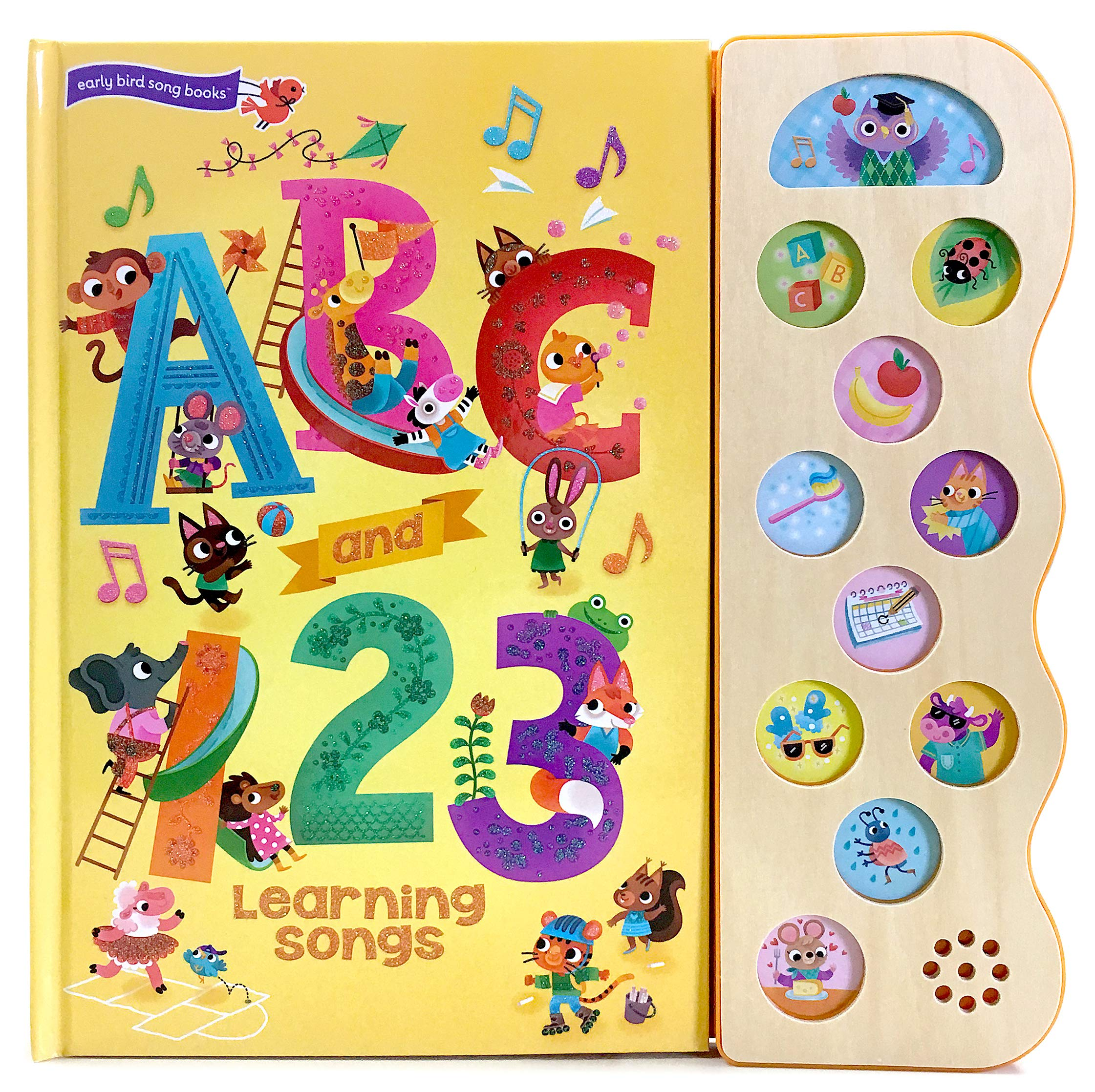 Amazon com: ABC & 123 Learning Songs: Interactive Children's Sound