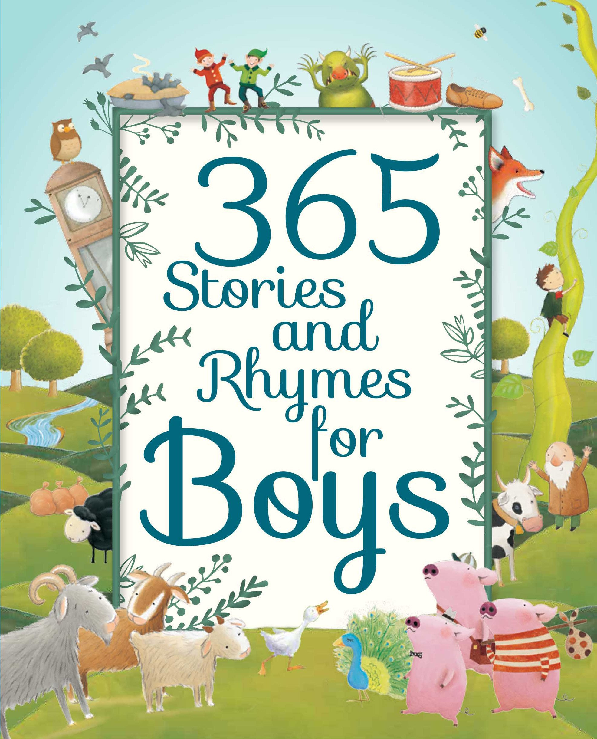 365 Stories and Rhymes for Boys (Deluxe 365 Stories) pdf epub